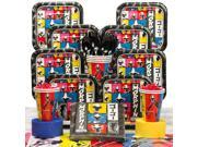 Power Rangers Dino Charge Birthday Party Deluxe Tableware Kit Serves 8 - Party Supplies 9SIA0BS6MY0182
