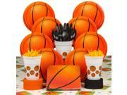 Basketball Birthday Party Deluxe Tableware Kit Serves 8 9SIA0BS6PN4495