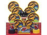 Superhero Birthday Party Deluxe Tableware Kit Serves 8 9SIA0BS6PN4552