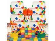 Block Party Birthday Deluxe Tableware Kit (Serves 8) 9SIA0BS6PN4641