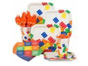 Block Party Birthday Standard Tableware Kit (Serves 8) 9SIA0BS6PR7825