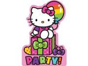 Hello Kitty Rainbow Invitations (8 Pack) - Party Supplies 9SIA0BS6RB8427