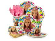 Barbie Sparkle Standard Birthday Party Tableware Kit (Serves 8) 9SIA0BS6RC2200