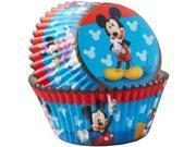 Mickey Mouse Baking Cups (50 Count) 9SIA0BS6RF7618