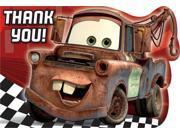 Disney Cars Postcard Thank You Cards (8 Pack) - Party Supplies 9SIA2K34TG5267