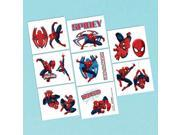 Spiderman Tattoo Favors (16 Pack) - Party Supplies 9SIA17P5TV2550