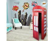 Superhero Comics Giant Wall Decal and Standup Kit 9SIA0BS5ST0178