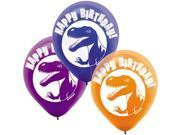 "Dinosaur Party 12"""" Latex Balloons (6 Pack) - Party Supplies"" 9SIA0BS0NF4043"