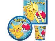Pokemon Birthday Party Standard Tableware Kit Serves 8 9SIA0BS6T71461