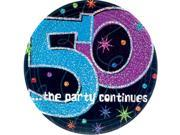 "The Party Continues 50th Birthday 9"""" Dinner Plates (8 Pack) - Party Supplies"" 9SIA0BS6UR8235"