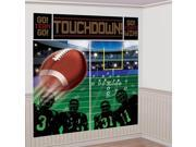 Football Scene Setter Wall Decorating Kit (Each) - Party Supplies 9SIA0BS6UR8240