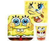 SpongeBob Birthday Party Standard Tableware Kit Serves 8 9SIA0BS6PN4714