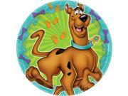 "Scooby Doo 7"""" Cake Plates (8 Pack) - Party Supplies"" 9SIA0BS70Y2603"