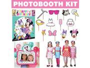 Minnie Mouse Helpers Photo Booth Kit 9SIA0BS70Y2752