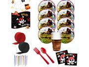 Pirates Deluxe Tableware Kit (Serves 8) 9SIA0BS7186645