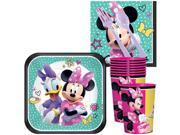 Minnie Mouse Helpers Standard Tableware Kit With Plastic Favor Cups (Serves 8) 9SIA0BS70P6708