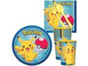 Pokemon Core Standard Tableware Kit With Plastic Favor Cups (Serves 8) 9SIA0BS70R0347