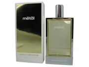 Metal by Paco Rabanne 3.4 oz EDT Spray