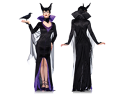Womens Maleficient Halloween Costume