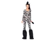 Womens Sexy Wild Zebra Costume 9SIA0BS0YX8877