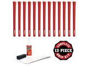 Iomic Sticky 1.8 Coral Red - 13 pc Grip Kit (with tape, solvent, vise clamp) 9SIV16A6794905