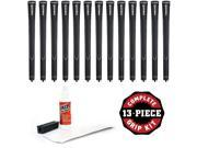 TaylorMade Universal - 13 piece Golf Grip Kit (with tape, solvent, vise clamp)
