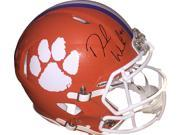 Deshaun Watson signed Clemson Tigers Riddell Speed Full Size Authentic Helmet #4- Beckett Hologram