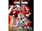 Steve Young signed San Francisco 49ers 16x20 HOF Collage