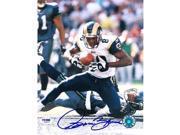 Isaac Bruce signed St. Louis Rams 8x10 Photo- PSA Hologram