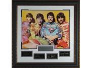 The Beatles unsigned Engraved Collection 32x32 Sgt Peppers