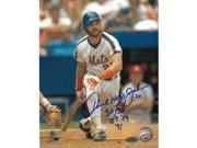 Howard Johnson signed New York Mets 8x10 Photo