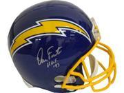 Dan Fouts signed San Diego Chargers Full Size TB Blue Replica Helmet HOF 93- JSA Hologram 9SIA0CY0U76157