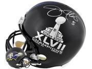 Joe Flacco signed Baltimore Ravens Super Bowl XLVII/Ravens Full Size Proline Helmet (SB MVP) 9SIA0CY0U76183