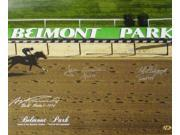 Swale signed Belmont Stakes Winners Belmont Park Horse Racing 16x20 Photo w/ 3 Sig
