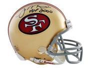 Joe Montana signed San Francisco 49ers Full Size Proline TB Helmet HOF 2000- Montana Hologram 9SIA0CY13D9448