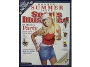 Athlon CTBL-014023 Jennie Finch Signed Olympic Team USA Sports Illustrated Cover July 11, 2005 with USA - 16 x 20 9SIA0CY1AZ7120