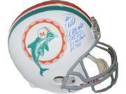 Paul Warfield signed Miami Dolphins TB Full Size Replica Helmet w/ triple HOF 83, 8X Pro Bowls & 85 TDs inscriptions 9SIA0CY1C63472