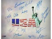 Athlon CTBL-014279 Olympic Winners Signed Photo with 15 Signatures - 14 Team USA - 16 x 20 9SIA0CY1C63473