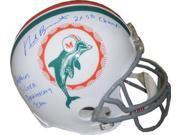 Nick Buoniconti signed Miami Dolphins Full Size TB Replica Helmet dual 2X SB Champs & Dolphins Silver Anniversary Team 9SIA0CY1R77278
