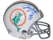 Jim Langer signed Miami Dolphins TB Replica Mini Helmet HOF 87 9SIA0CY1UH2670