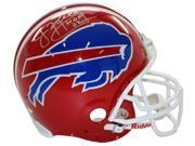 Jim Kelly signed Buffalo Bills Full Size TB Proline Helmet HOF 02 (silver sig)- Steiner Hologram 9SIA0CY1UZ8070