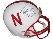 Tom Osborne signed Nebraska Cornhuskers Full Size Riddell TB Replica Helmet 94 95 97 Champs 9SIA0CY2W96760
