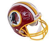 John Riggins signed Washington Redskins 1982 TB Full Size Replica Helmet SB XVII MVP (silver sig)- Steiner Hologram 9SIA0CY1YK0124