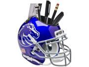 Boise State Broncos (New Blue) NCAA Football Schutt Mini Helmet Desk Caddy