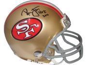 Ronnie Lott signed San Francisco 49ers Replica TB Mini Helmet HOF 2000 9SIA0CY23W7713