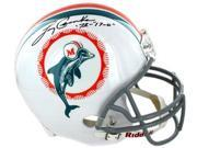 Larry Csonka signed Miami Dolphins Full Size Replica TB Helmet w/ dual '72 & 17-0- Steiner Hologram 9SIA0CY2E64252