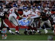 Eli Manning signed New York Giants Super Bowl XLII 8x10 Photo Escape- Steiner Hologram 9SIA0CY2E64392