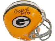 Paul Hornung signed Green Bay Packers Replica TB Mini Helmet HOF 86 9SIA0CY2E64348