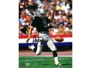 Ray Guy signed Oakland Raiders 8x10 Photo (HOF 2014) 9SIA0CY35W7856