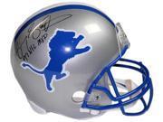 Barry Sanders signed Detroit Lions Full Size Replica TB Helmet 97 NFL MVP- Steiner Hologram 9SIA0CY37K8215